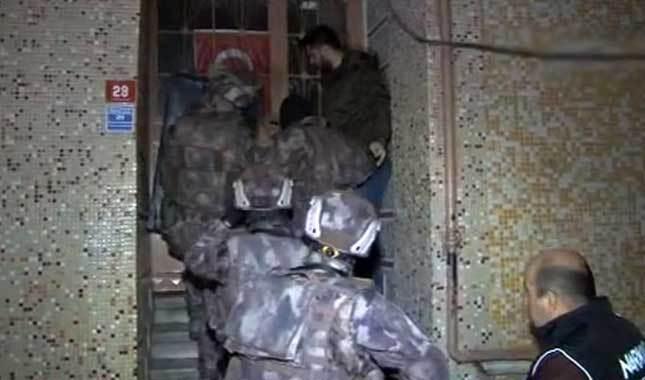 İstanbul'da eş zamanlı narkotik operasyonu