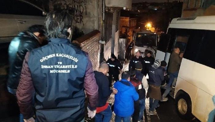 İstanbul'da göçmen kaçakçılığı operasyonu!