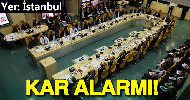 İstanbul'da kara hazırlık toplantısı