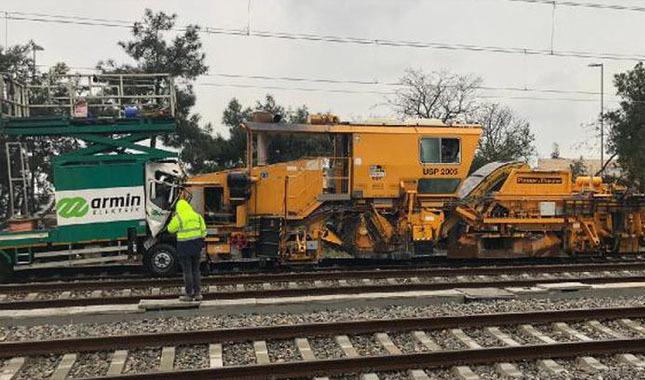 İstanbul'da korkutan tren kazası