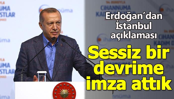 İstanbul'da sessiz devrim yaptık
