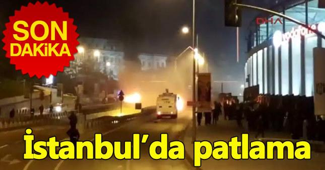 İstanbul Beşiktaş'ta bombalı saldırı: Çok sayıda yaralı var