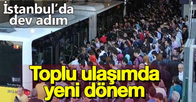 İstanbul'da toplu ulaşım sigortalandı