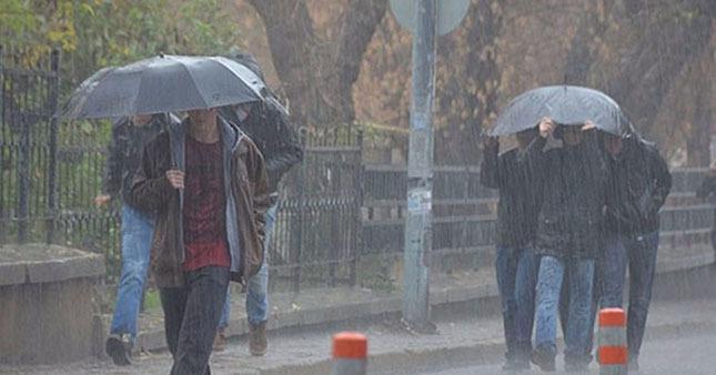 İstanbul'da yağmur geliyor