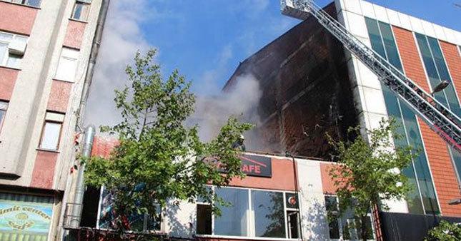 İstanbul'da yangın paniği!