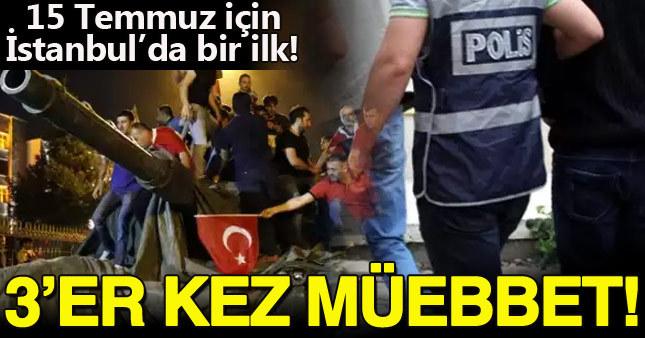 İstanbul'daki FETÖ iddianamesinde 21 polise 3'er kez müebbet talebi