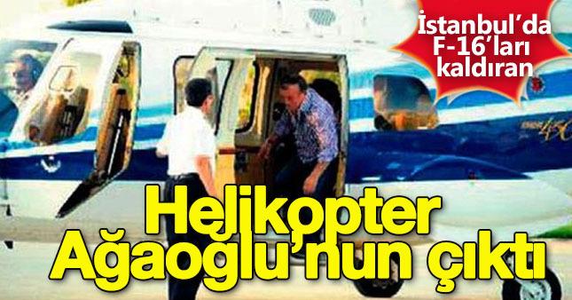 İstanbul'daki helikopterin sahibi belli oldu