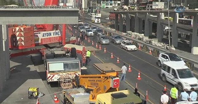 İstanbullulara kötü haber: E-5 kilitlendi