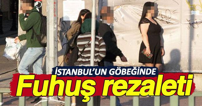 İstanbul'un göbeğinde fuhuş