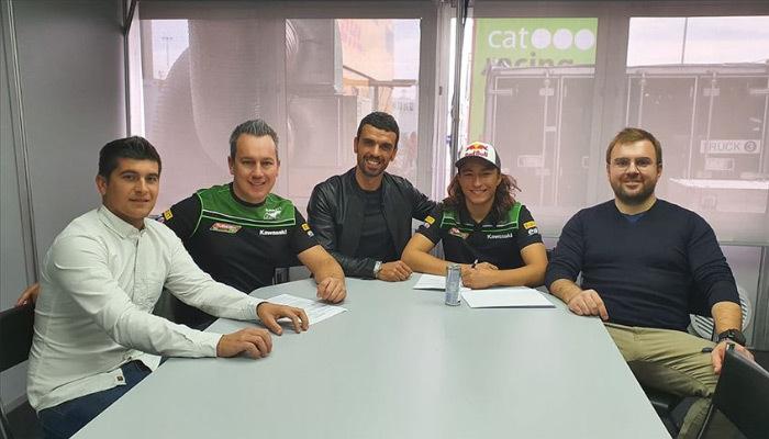 İşte motosikletçi Can Öncü'nün yeni takımı