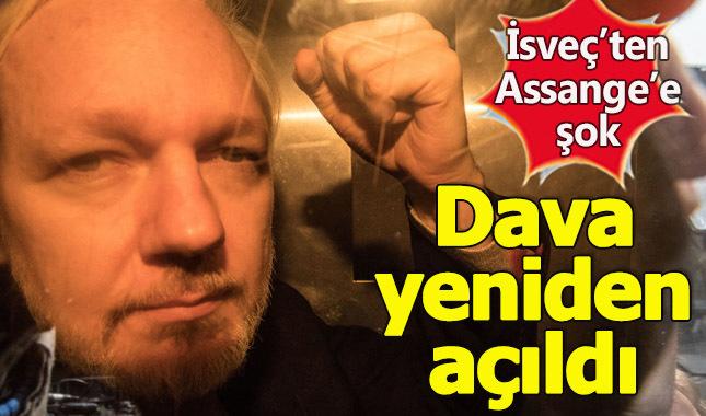İsveç'ten Assange davasını yeniden açtı