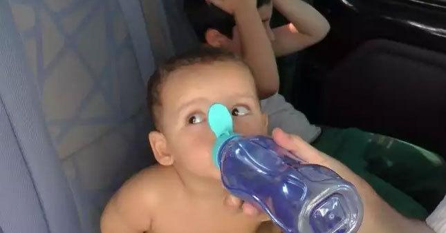 İtfaiye kurtardı ilk istekleri su oldu
