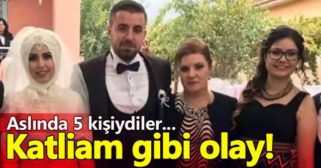İzmir'de aile katliamı: 4 ölü