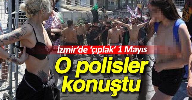 İzmir'deki çıplak eylemin yankıları büyüyor