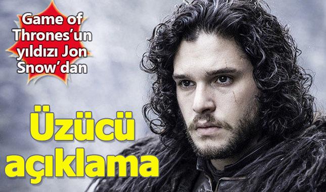 Jon Snow'dan Game of Thrones'un final bölümü için üzücü haber: Seyirciyi tatmin etmeyecek