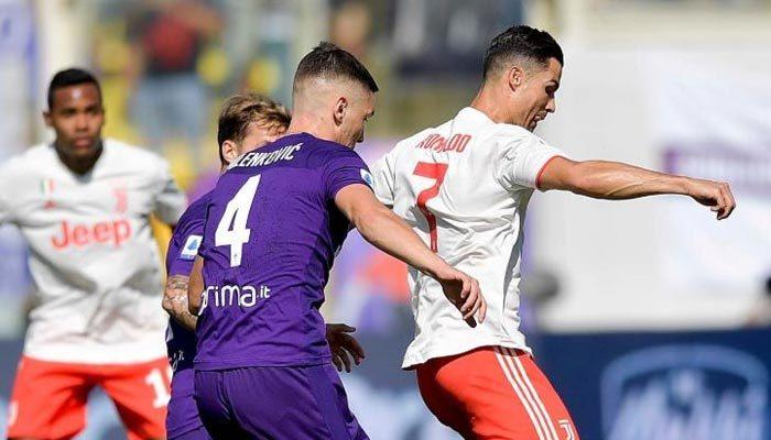 Juventus'a ilk çelme Fiorentina'dan