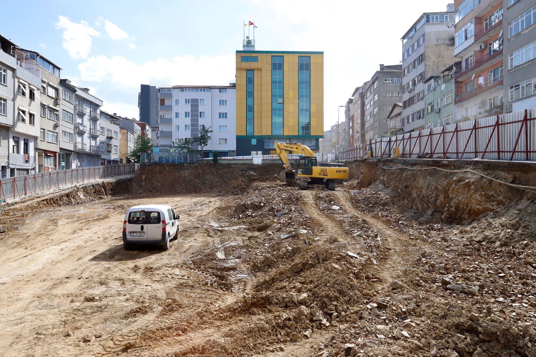 Kağıthane Belediyesi'nden yeni katlı otopark projesi