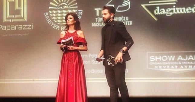 KKTC - Türkiye Ödül töreninde sunucular göz doldurdu