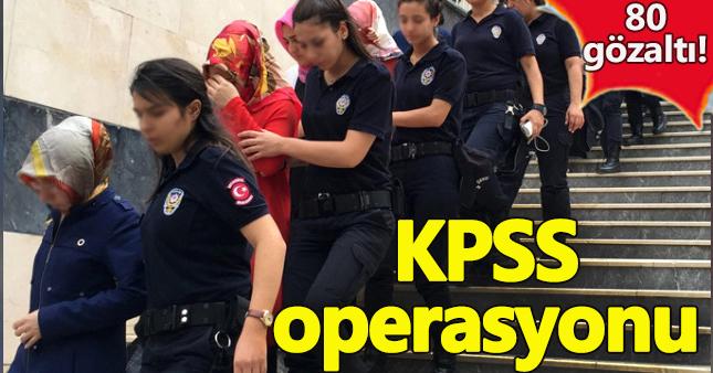 KPSS operasyonunda darbeci eşlerine tutuklamalar geldi