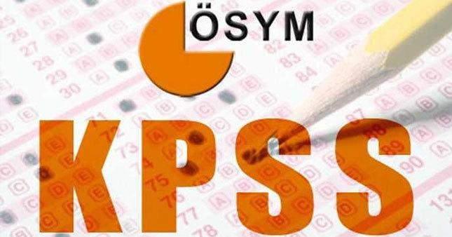 KPSS soru ve cevapları yayınlandı