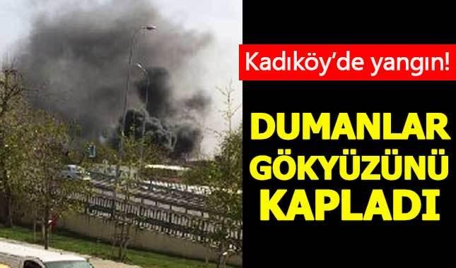 Kadıköy Haydarpaşa Garı'nda yangın!
