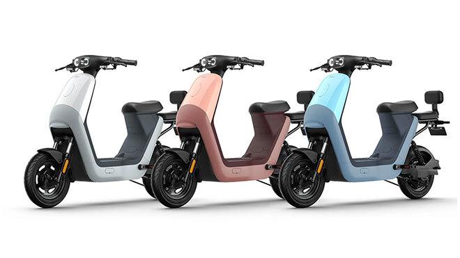 Kadınlara Özel Elektrikli Motosiklet