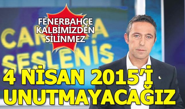 Kalplerimizden Fenerbahçe silinmez