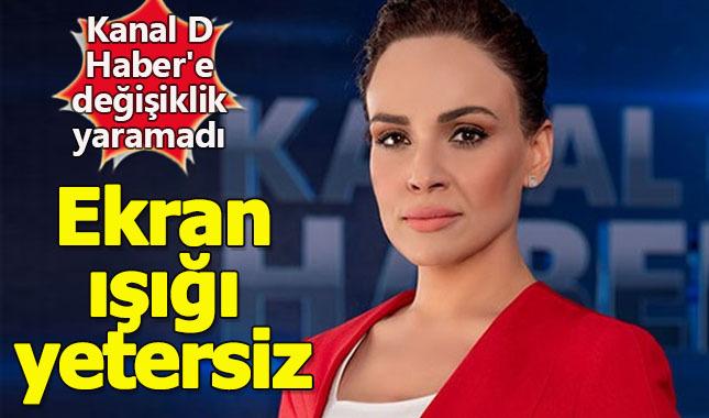 Kanal D Haber'e transfer olan Buket Aydın'ın ekran ışığı yetersiz!