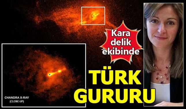 Kara delik fotoğrafını çeken Türk