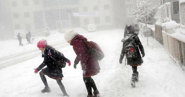 Karabük'te okullar tatil mi? Hangi okullar tatil? Karabük hava durumu