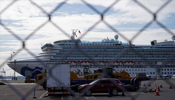 Karantina altındaki gemide 44 kişide daha 'Kovid-19'