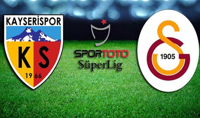 Kayserispor Galatasaray maçı ne zaman, saat kaçta?