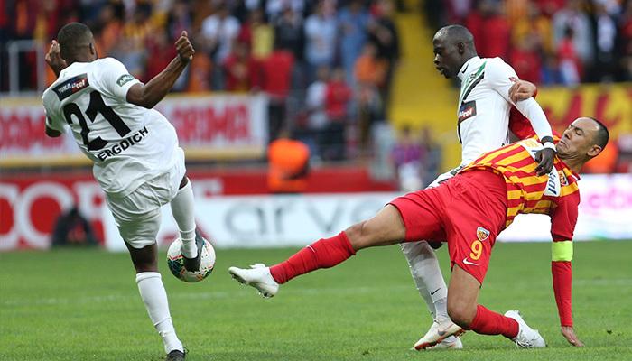 Kayserispor ile Denizlispor yenişemedi!