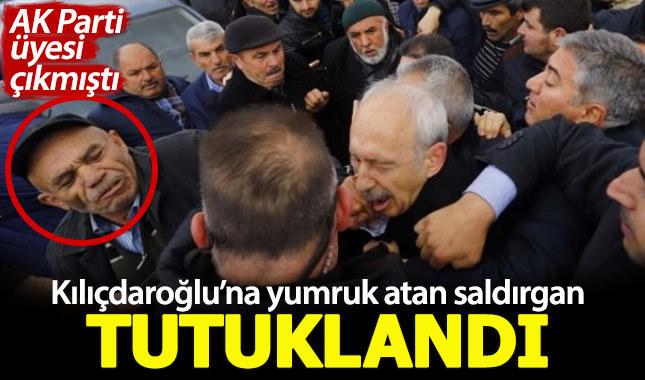 Kemal Kılıçdaroğlu'na yumruk atan saldırgan tutuklandı