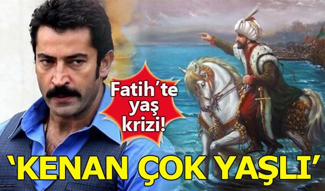 Kenan İmirzalıoğlu'nun yaşı dizide kriz çıkardı