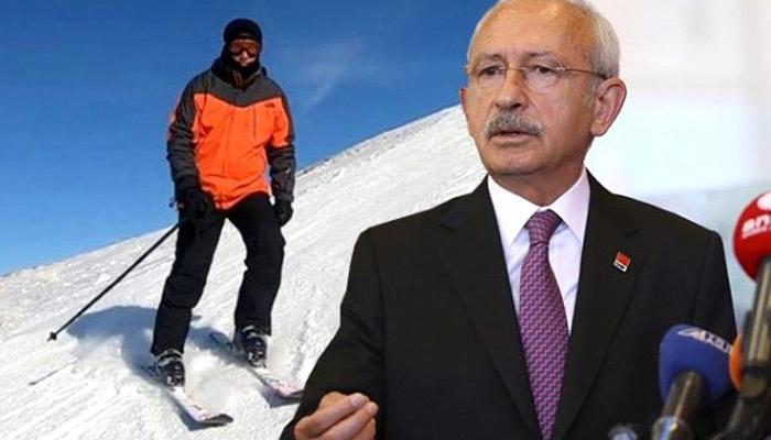 Kılıçdaroğlu'ndan İmamoğlu'na kayak tatili eleştirisi