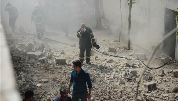 Kilise 2 roket mermisi düştü: Yaralılar var - Kilise Son Dakika Haberleri