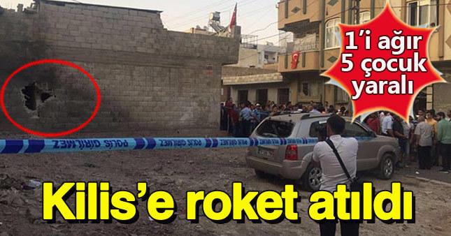 Suriye'den Kilis'e roket atıldı