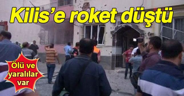 Kilis'e roket düştü: 1 ölü 3 yaralı