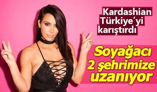 Kim Kardashian'ın soyu Türkiye'deki hangi illere dayanıyor?