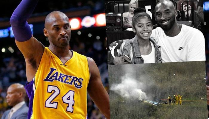 Kobe Bryant ve kızı helikopter kazasında hayatını kaybetti