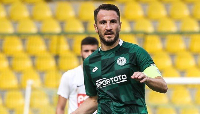 Konyaspor, kaptanıyla yollarını ayırdı