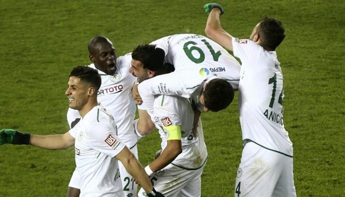 Konyaspor son dakika golüyle Ankargücü'nü yıktı