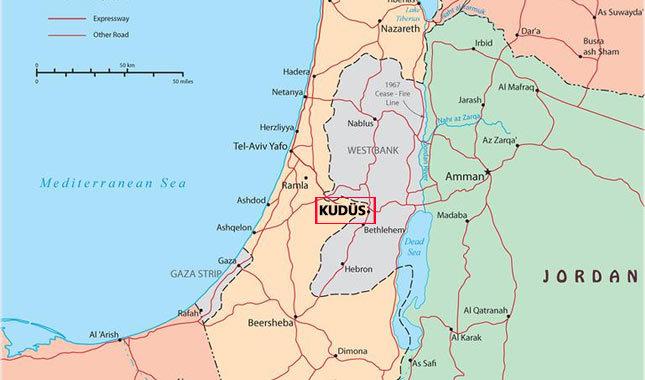 Kudüs nerede, haritadaki yeri, hangi ülkeye bağlı, önemi ne? Kudüs'te Müslümanlar mı çok Yahudiler mi?