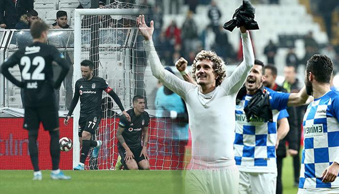 Kupada Erzurum şov! Beşiktaş'a havlu attırdı
