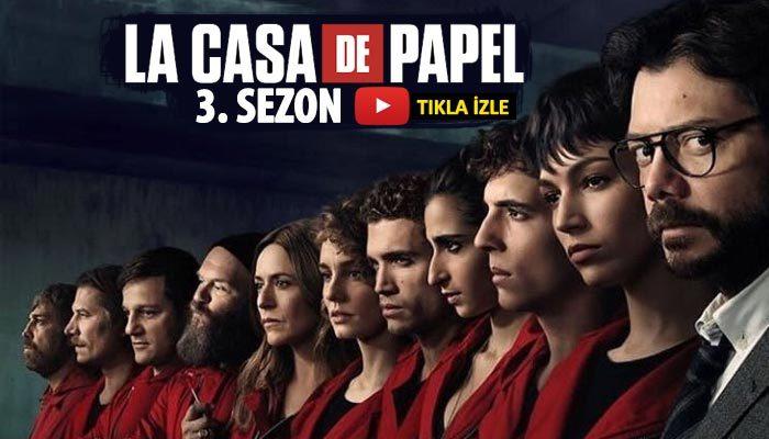 La Casa de Papel 3. sezon izle full hd tek parça | La casa de papel 3 sezon Türkçe alt yazılı izle