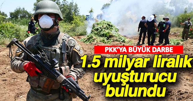 Lice'de yapılan operasyonlarda PKK'nın finans kaynaklarına ağır darbe vuruldu