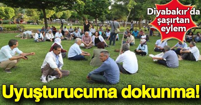 Lice'de yapılan uyuşturucu operasyonlarına karşı Diyarbakır'da eylem düzenlendi