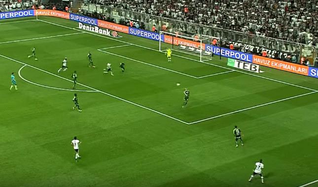 Beşiktaş 2-0 Bursaspor maçın özeti ve golleri