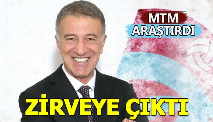 Lig bitti Ahmet Ağaoğlu zirveye çıktı